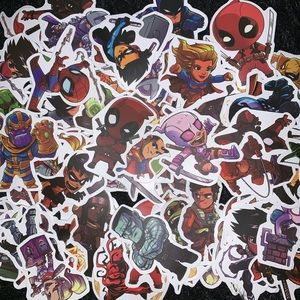 Other - Marvel / DC Sticker Bundle of 10